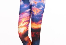 Legging Love / A collection of spunky leggings - the perfect item that can be worn day or night!
