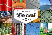 Design Local San Francisco / TEAM SAN FRANCISCO created coordinating ideas that are clean, almost minimalist patterns inspired by movement and transportation, the power lines and tracks that carry cable cars through the downtown streets, and the texture of coastal pathyways. www.manningtondesignlocal.com
