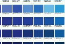 my blue pantone