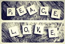 peace, love and calm