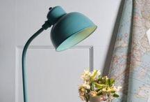 New for Summer / Introducing the Newark Desk Lamp and a selection of our latest fabrics to match them