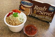 Lunch on the Go / Bringing you the most wholesome lunch recipes using Minute® Ready-to-Serve Rice pre-portioned cups / by Minute Rice