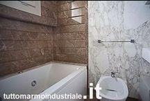 Bagno / www.tuttomarmoindustriale.it Lavorazione e arredi in marmo, granito e pietre naturali italiane ed estere.
