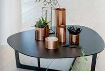Style File: Copper Homewares / We are obsessed with metallic homewares especially modern Copper Homewares .  They have a wonderful rustic feel and sheen.  We are particularly excited by the 'Coppre' brand designed by Rashmi Ranade, who works closely with traditional Tambat' craftsmen in India to produce stylish hand-made copper homewares.