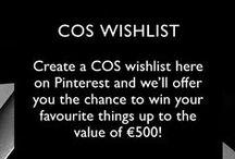 COS wishlist