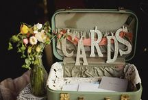 Card box ideas / Different, creative ways to collect cards at your wedding.
