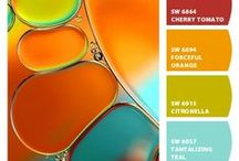 Color Schemes / If you're looking for color palette inspiration...
