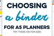 Planner Organization Ideas / Learn how to set up and use a planner and live an organized, well-planned life.