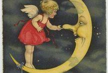 Au clair de la lune... (By moonlight...) / by Ariel Thilly
