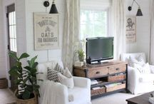 HOME | LIVING SPACE / Some of our favorite inspirational living rooms and dens!