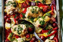 Healthy One Pot Dinners / One pot dinners are perfect mid week meals. Lots of healthy food without all the washing up.