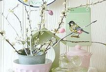 Easter / Easter eggs, spring inspiration and lots of pastel shades for your home and more.