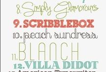Fancy Fonts & Pretty Prints / by Ashley Tomlinson