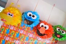 Sesame Street Bash party