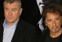 Al Pacino & Robert DeNiro /  MY BADASSES! I LOVE THESE GUYS! / by Jenn