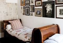 interiors / bedroom / Rustic bedroom interior design.