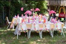 Flamingo Party Love