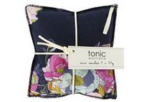tonic Autumn/Winter Range 2015 / Heat Pillows, Eye Pillows, Soaps, Eco Sachet's, Shower Caps, Cosmetic Bags and more!