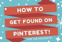 Pinterest Success Tips / Collection of the best Pinterest success tips around the Pinterest Universe