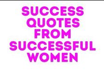 #GirlBoss Quotes / Quotes about success from successful women