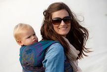 Babywearing / Babywearing brings your baby close to you and enables you to go about the business of your day. It makes mothering, fathering, parenting a baby so much easier! I used a Moby wrap, Maya wrap, Baby Ktan, ring slings, structured carriers, a Baby Hawk mei tai, you name it. I think every parent should give baby wearing a try!