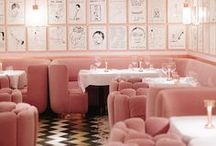 Restaurants / Restaurant interiors that I love from around the globe. Check out those I've visited on the blog Arianna's Daily and find lots of restaurant inspiration in London, Italy and further afield too.