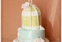 Casamentos ♥ Weddings / [PT] Os bolos de Casamento feitos por mim. [EN] The Wedding Cakes I've made. Todos os detalhes no site | All the details in my website: www.MariaJoaoBolosArtisticos.com