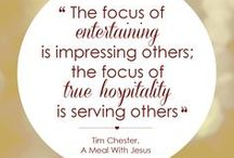 Hospitality / What is true hospitality and where does it originate from?