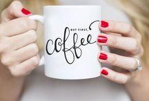Coffee & Tea / Bebidas quentinhas (às vezes, nem tanto) que adoro. Café para qualquer estação. Chá no outono-inverno.