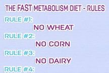 The Fast Metabolism Diet Rules / The Fast Metabolism Diet rules and do's by Haylie Pomroy.