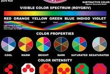 Color Infographics / Color has more power than we always realize. Enjoy color infographics about how to experience the colors you love in the ways you want.