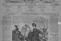 Victoria-Illustrierte Muster- und Modezeitung, Berlin, 1863-1871
