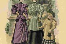Blatt der Mode für Schneiderinnen