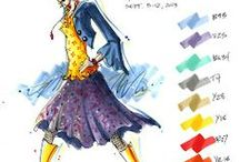 Color in Fashion / The Fashion industry wouldn't be what we know it as today without the powerful influence of Color.