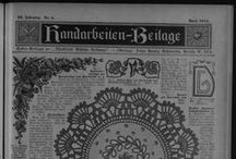 Illustrierte Wäschezeitung - Handarbeitenbeilage