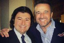 Marco Danesi con amici e colleghi del mondo dello spettacolo