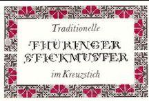 Stickerei aus Thüringen
