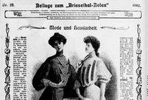 Mode und Heim / Handarbeitsblatt zum Briesethal-Boten, Stralsund 1902 und zur Stralsundischen Zeitung