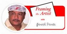 [Framing the Artist] Ganesh Panda / [Framing the Artist] When you see Ganesh Panda's paintings, you are bound to be drawn by his deft strokes and masterful use of colour. And his use of palette knife happened by chance. The palette knife gave him a way to convey that every struggle when faced can create something beautiful. Read the entire interview here - http://blog.artflute.com/framing-the-artist-painting-the-m…/ #framingtheartist #artistswelove #artistsinterview #paletteknifepainting #paletteknife #contemporaryart #weekendread
