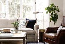 Living Room. / Cozy living room decor ideas.