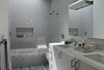 a.Grey Tile / Examples of grey or near white tile. Pinned by Steve Hall Architecture.