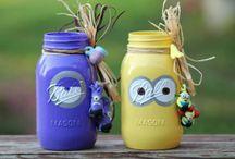 My Etsy Store / My etsy store that has handpainted mason jars.