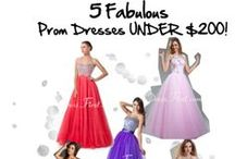 ☆ Prom ☆ / Gorgeous dresses and fabulous hair and makeup inspirations all in one place !!