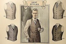 The Waistcoat-Vest knitted & tailored  / Different styles of waistcoats-vest formal & smart casual
