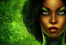 • Itaï N'Bagoun Bint Khalil Abd-al-Salif • / Inspiration pour mon personnage au RPG Capharnaüm