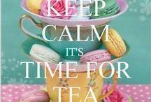 Tea/Thee / I ♥ tea can´t live without it.  Ik ben een echte theeleut, geen dag gaat er voorbij zonder een heerlijk kopje thee. Hier kom je allemaal leuke thee-inspiratie tegen.