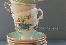 Teapots teacups/Theepot theekopjes