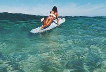 "beachy. / ""live in the sunshine, swim the sea, drink the wild air..."" - ralph waldo emerson"