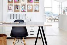Office Decor / Office decorating ideas for work or home.