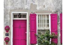 home: DOORS. / when one door of happiness closes, another one opens, but often we look so long at the closed door that we do not see the one that has opened for us.